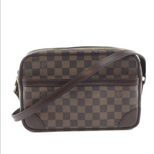 Louis Vuitton Trocadero 27 Damier Ebene crossbody